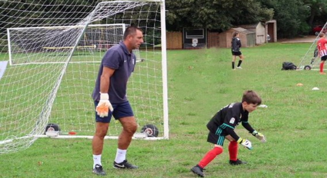 Goalkeeping sessions by 4 Corner Coaching