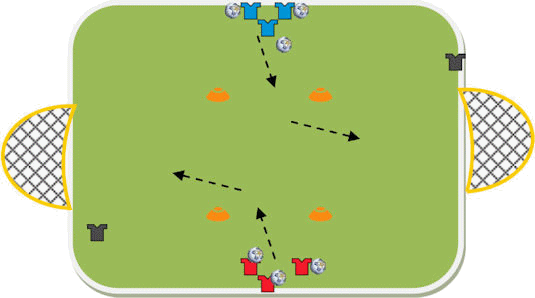 4 Corner Coaching's Shooting Taster Session Plan